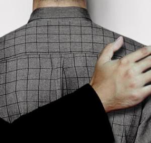 Schulterklopfen