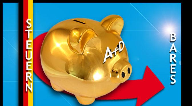 AfD-Programm Knackpunkt 3: Steuerreform & (Un-)Verzicht-Bares – (Teil 6)