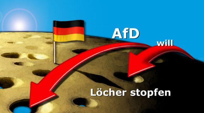 AfD-Programm Knackpunkt 6: Die Gegenfinanzierung (Teil 9)