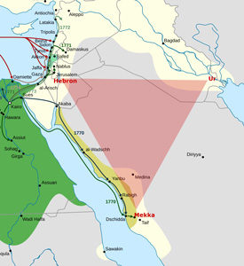 Egypt_and_Syria_1768_to_1774_map_de