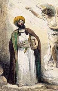 Mohammeds_Berufung,_Hosemann_1847